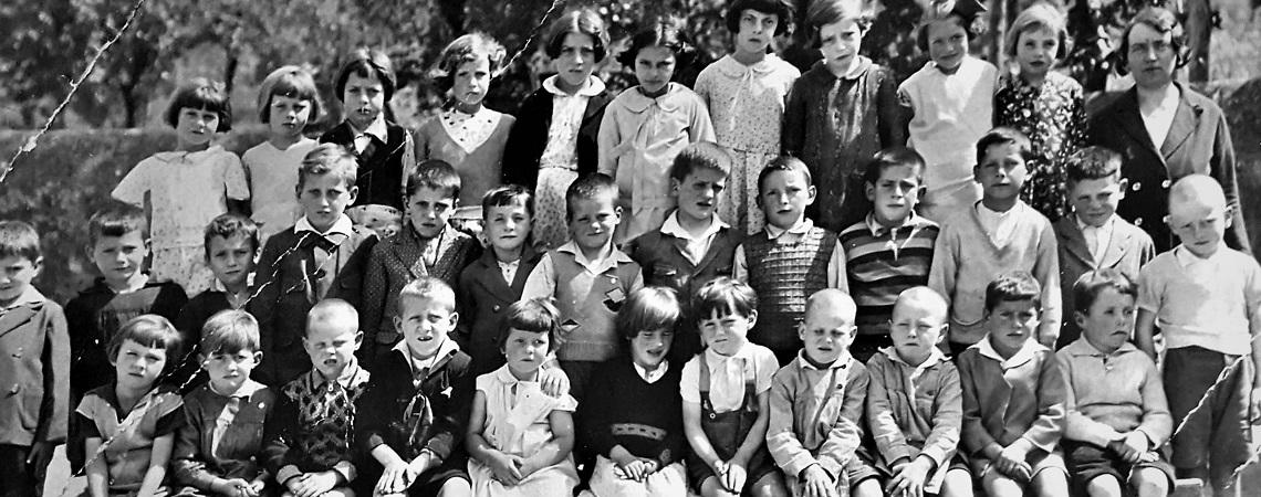 Ecole de Muraz en 1935