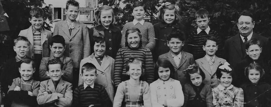 Ecole de Collombey en 1953